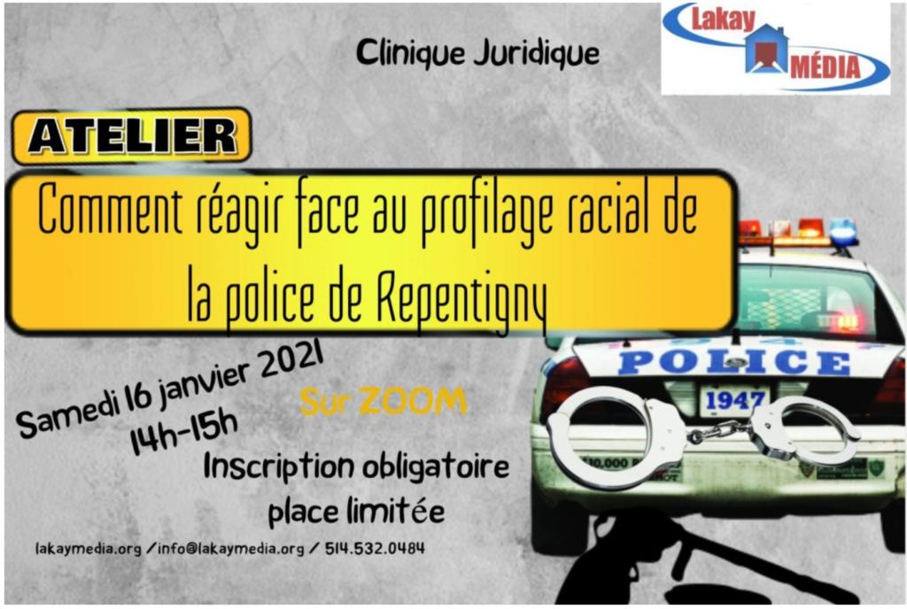 Atelier sur le profilage racial à Repentigny